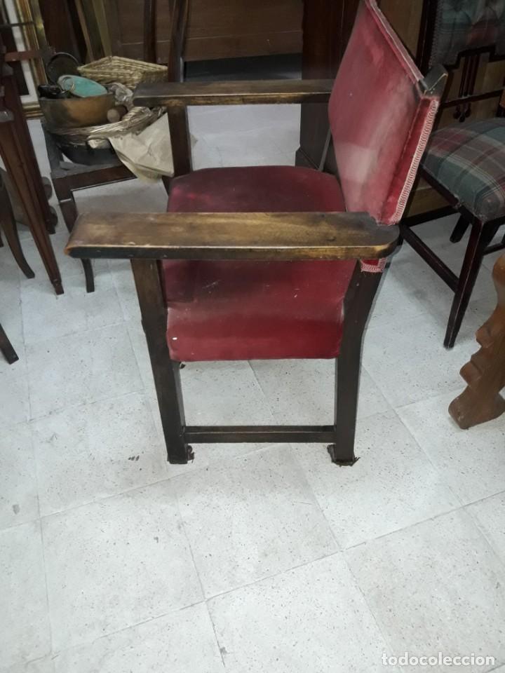 Antigüedades: sillón frailero - Foto 3 - 213233758