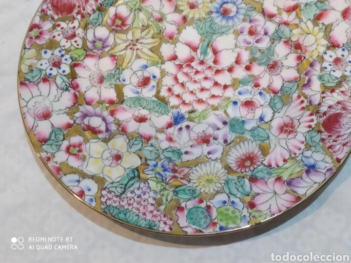 Antigüedades: Precioso plato chino Macau - Foto 2 - 213286548