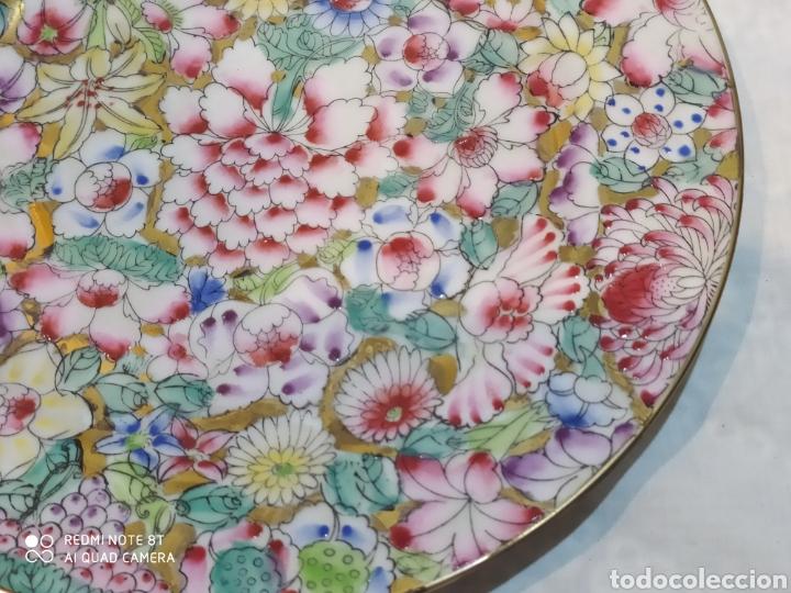 Antigüedades: Precioso plato chino Macau - Foto 4 - 213286548