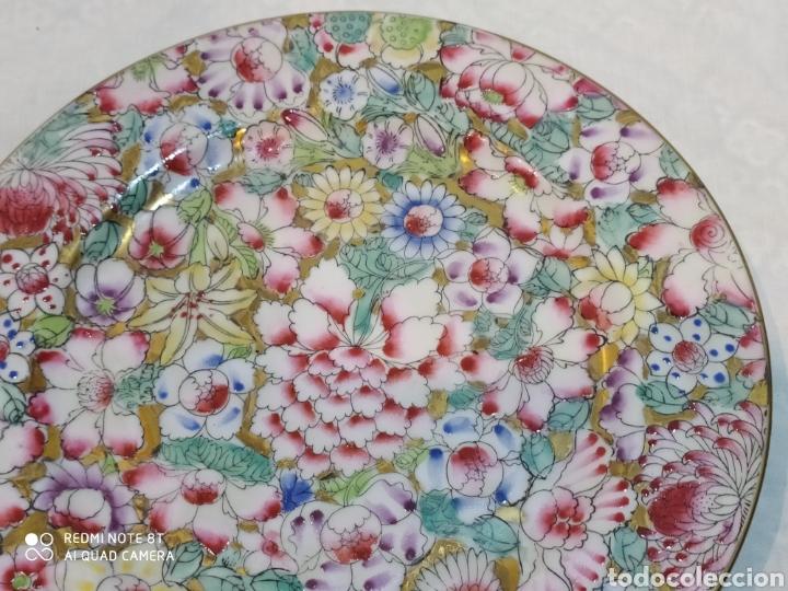 Antigüedades: Precioso plato chino Macau - Foto 5 - 213286548