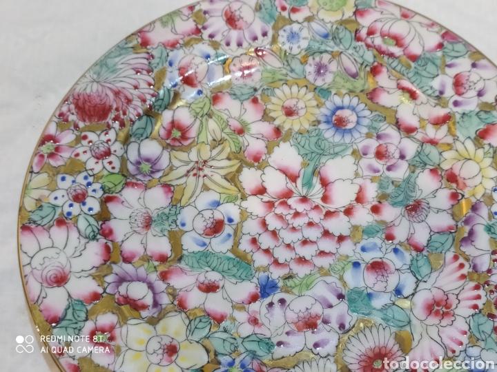 Antigüedades: Precioso plato chino Macau - Foto 7 - 213286548