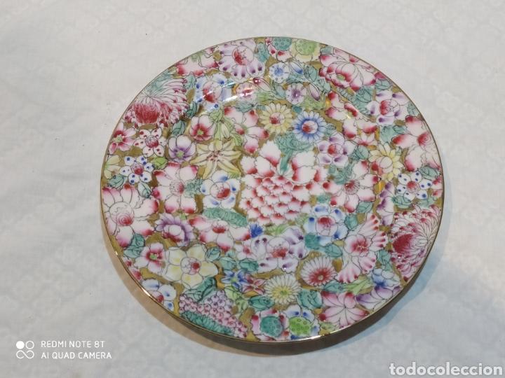 PRECIOSO PLATO CHINO MACAU (Antigüedades - Porcelanas y Cerámicas - China)