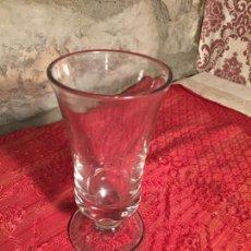 Antigüedades: ANTIGUO JARRÓN / FLORERO DE CRISTAL SOPLADO A MANO AÑOS 40-50. Lote 213289443