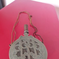 Antigüedades: POLVERA COBRE O BRONCE ÁRABE. Lote 213303541