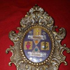 Antigüedades: RELICARIO EN LATON. SIGLO XIX. Lote 213352471