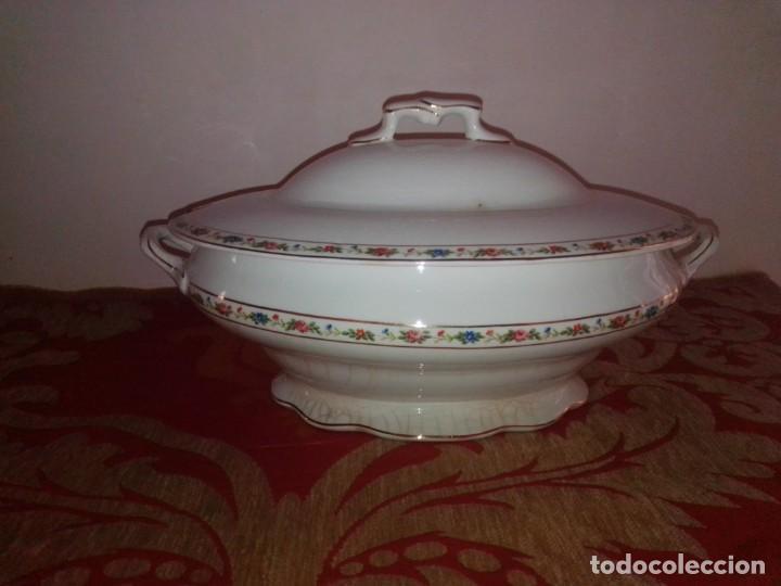 Antigüedades: Antigua sopera sellada Asturias - Foto 3 - 213384478