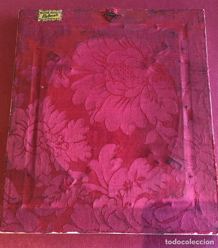 Antigüedades: Magnífico marco en hueso, o marfil, y carey. Pps. S.XX. 20x23cm. - Foto 8 - 213384591