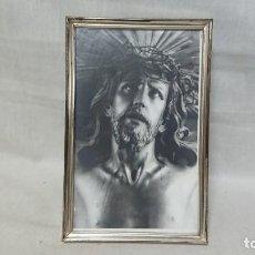 Antigüedades: ANTIGUO CUADRO RELIGIOSO JESUCRISTO CRISTO. Lote 213421333