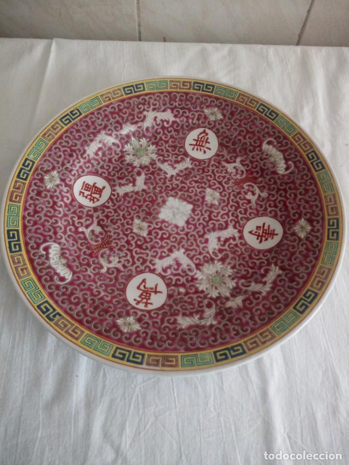 Antigüedades: Antiguo y Precioso plato de porcelana japonesa. - Foto 2 - 213432392