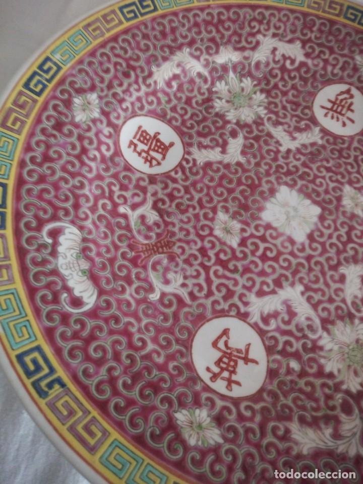 Antigüedades: Antiguo y Precioso plato de porcelana japonesa. - Foto 3 - 213432392