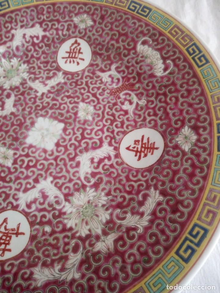 Antigüedades: Antiguo y Precioso plato de porcelana japonesa. - Foto 4 - 213432392