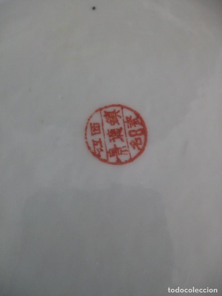 Antigüedades: Antiguo y Precioso plato de porcelana japonesa. - Foto 6 - 213432392