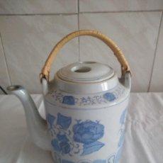 Antigüedades: ORIGINAL TETERA DE PORCELANA CHINA.. Lote 213435796