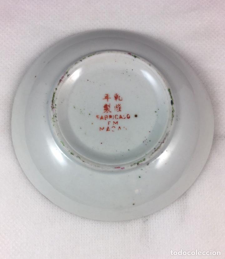 Antigüedades: Cuenco de porcelana de Macao (19600) - Foto 2 - 213437958