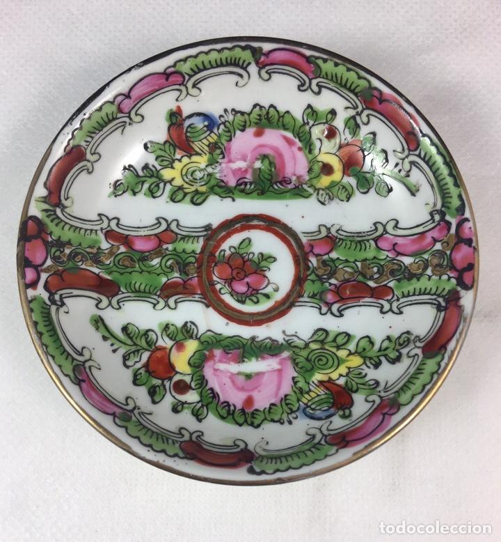 CUENCO DE PORCELANA DE MACAO (19600) (Antigüedades - Porcelanas y Cerámicas - China)