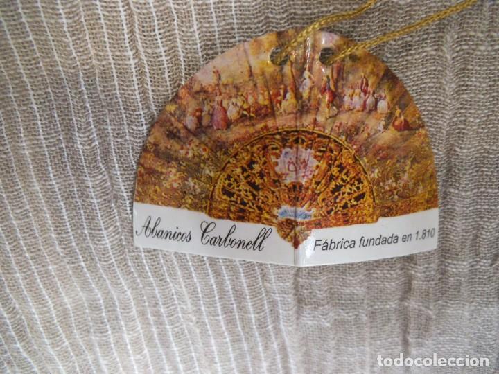 Antigüedades: ABANICO NEGRO -CARBONELL- - Foto 7 - 213438942