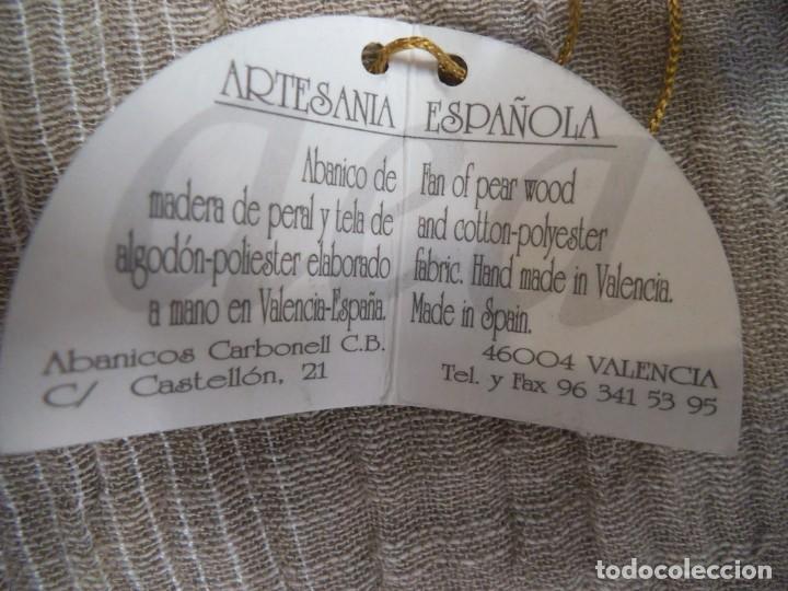 Antigüedades: ABANICO NEGRO -CARBONELL- - Foto 8 - 213438942