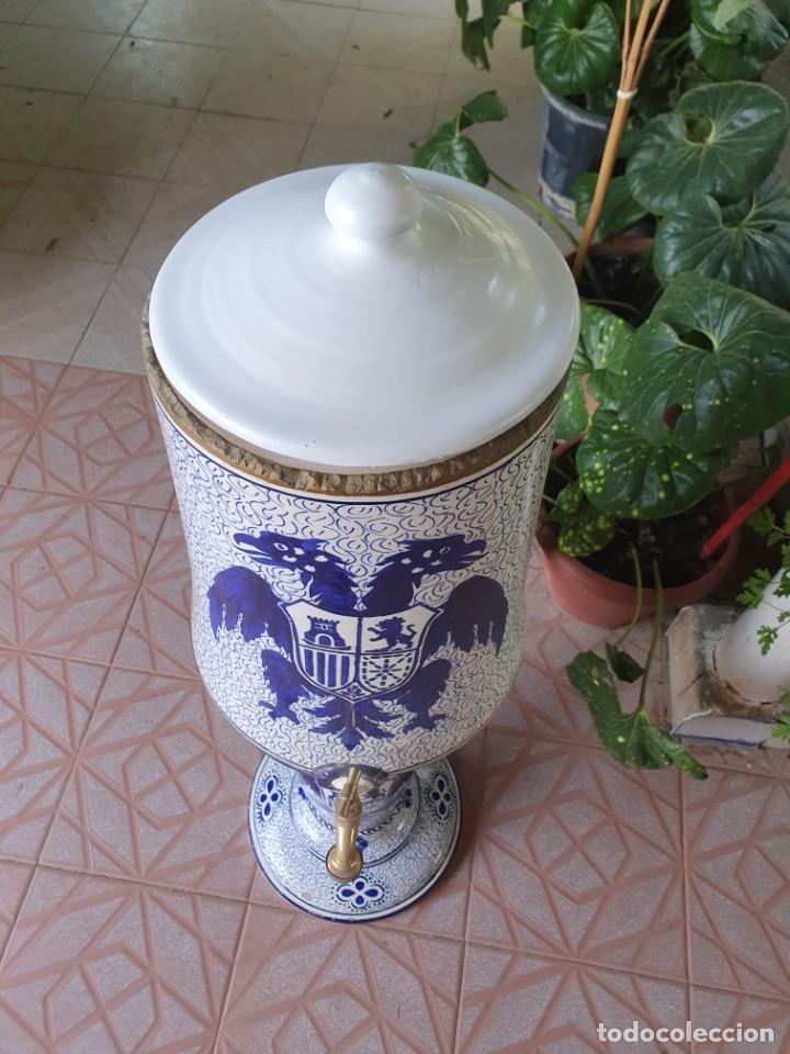 Antigüedades: Antiguo aguamanil,posiblemente de manises - Foto 5 - 213487386