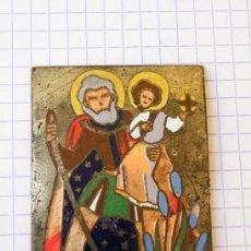 Antigüedades: PLACA ESMALTADA. TODO A 1 EURO Y 5 EUROS. (ELCOFREDELABUELO). Lote 213497682