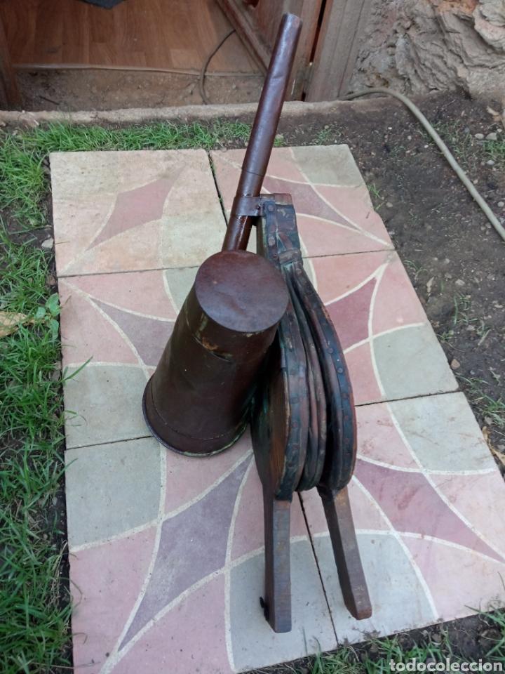 Antigüedades: Fuelle antiguo sulfatador. - Foto 3 - 213506585