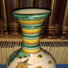 Antigüedades: JARRÓN CERÁMICA PUENTE DEL ARZOBISPO.LA PILARICA. Lote 213528033