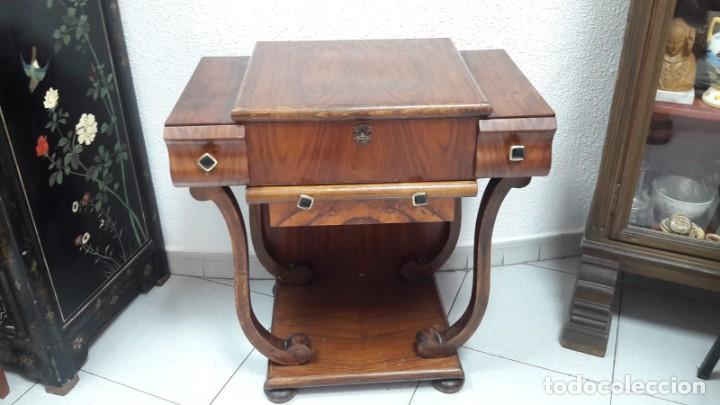 COSTURERO ÉPOCA ARTDECO ALTO 68 CM PROFUNDO 41 CM Y ANCHO 67CM (Antigüedades - Muebles Antiguos - Auxiliares Antiguos)
