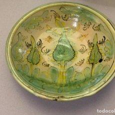 Antigüedades: PLATO PUENTE DEL ARZOBISPO, LOS PINOS (S.XVIII). Lote 213536122