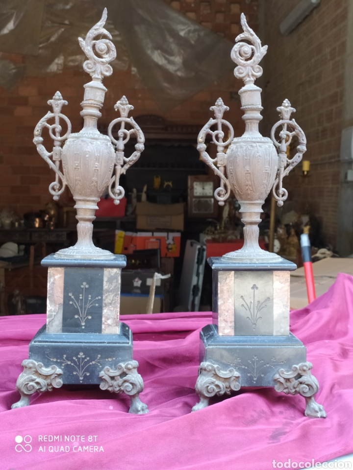 PRECIOSOS JARRONES ANTIGUOS (Antigüedades - Hogar y Decoración - Jarrones Antiguos)