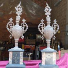 Antigüedades: PRECIOSOS JARRONES ANTIGUOS. Lote 213544275