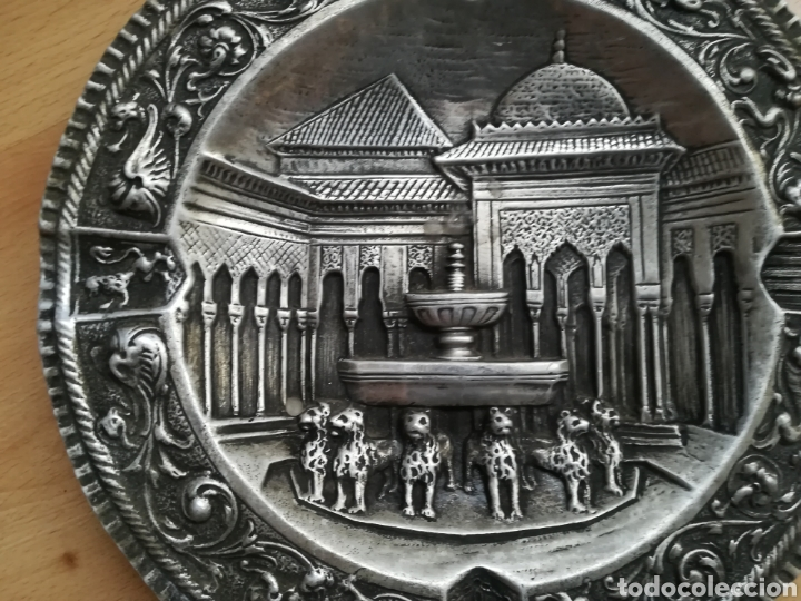 Antigüedades: Plato de época AÑOS 20. GRANADA. - Foto 2 - 213560781