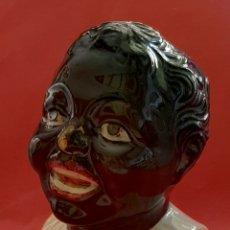 Antigüedades: ANTIGUA HUCHA DEL DOMUND. PORCELANA ESMALTADA. COMPLETAMENTE ORIGINAL. AÑOS 50.. Lote 213572746