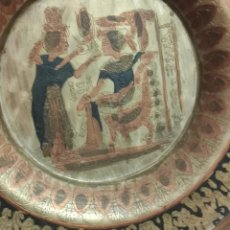 Antigüedades: BANDEJA DE COBRE MUY ANTIGUA. Lote 213575083