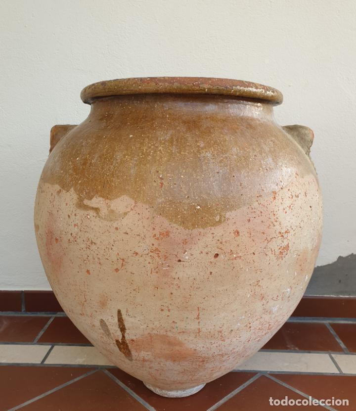 Antigüedades: DE MUSEO,MAGNIFICA TINAJA EN CERAMICA DE UBEDA,(JAEN),S. XVIII - Foto 2 - 213575788