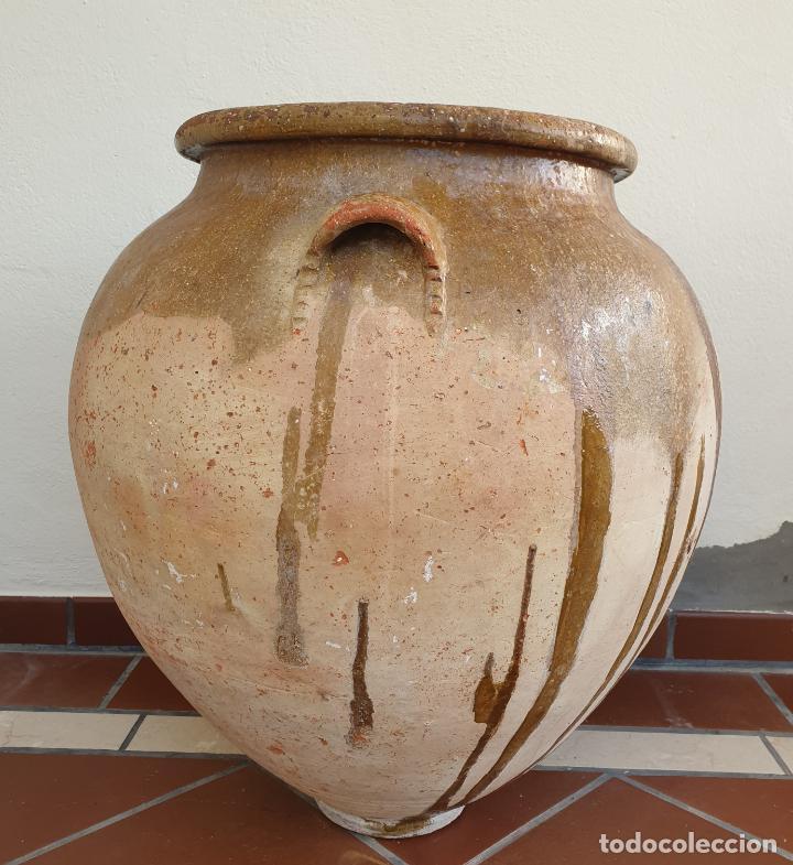 Antigüedades: DE MUSEO,MAGNIFICA TINAJA EN CERAMICA DE UBEDA,(JAEN),S. XVIII - Foto 3 - 213575788