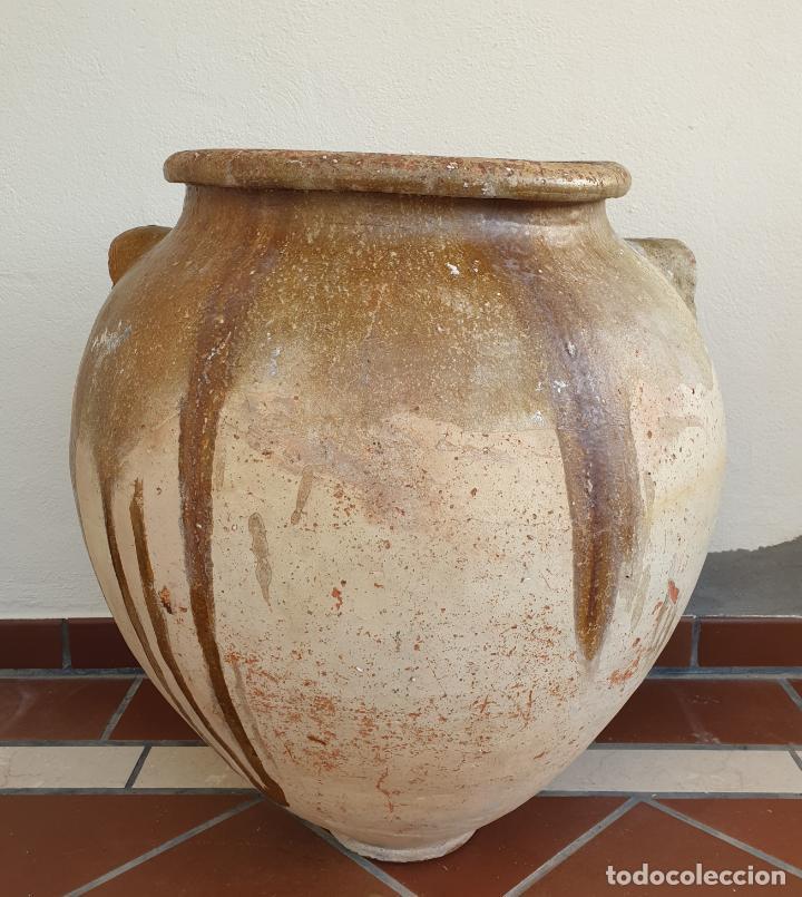 DE MUSEO,MAGNIFICA TINAJA EN CERAMICA DE UBEDA,(JAEN),S. XVIII (Antigüedades - Porcelanas y Cerámicas - Úbeda)