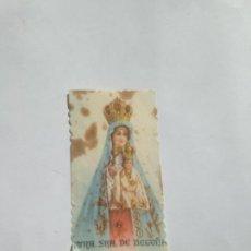 Antigüedades: ESTAMPITA NUESTRA SEÑORA DE BEGOÑA AÑOS 50. Lote 213585323