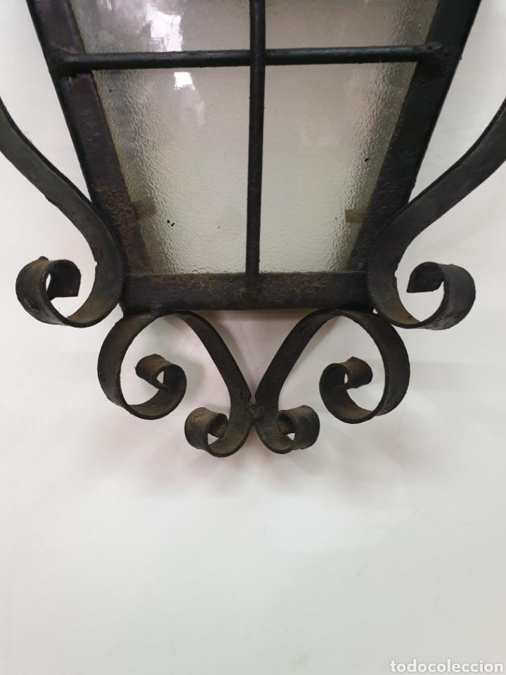 Antigüedades: Aplique de hierro forjado - Foto 2 - 213606552