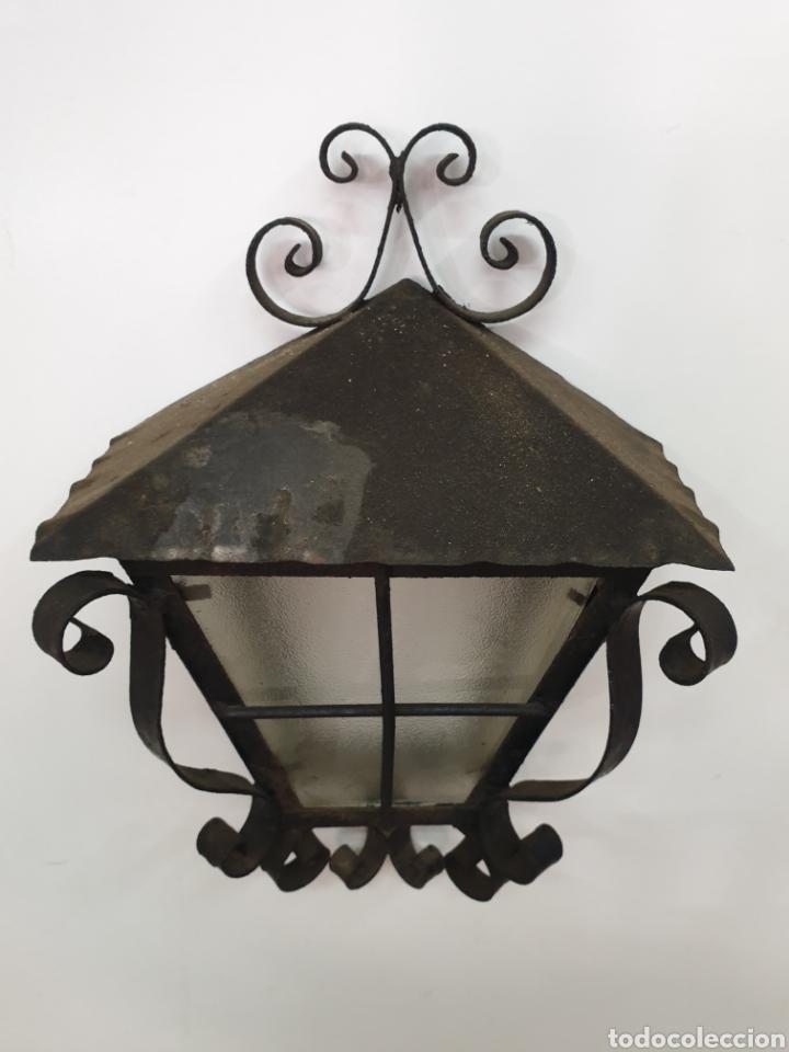 Antigüedades: Aplique de hierro forjado - Foto 3 - 213606552