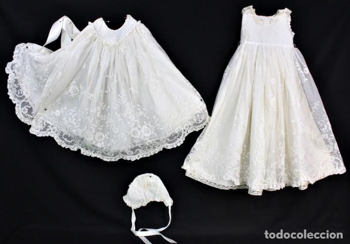 REF T 9 TRAJE DE CRISTIANAR DE VALENCIENNES. PPS S XX (Antigüedades - Moda y Complementos - Infantil)