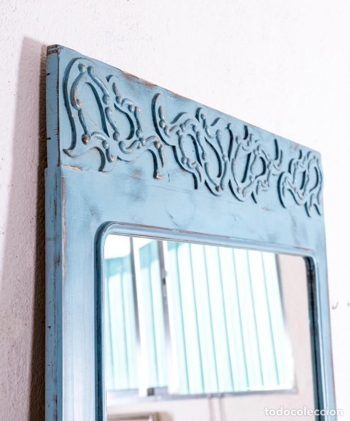 Antigüedades: Espejo Recuperado Christofer - Foto 6 - 213617076