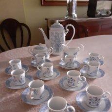 Antigüedades: JUEGO COMPLETO DE CAFÉ 12 SERVICIOS. Lote 213651667