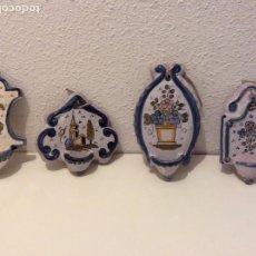 Antigüedades: LOTE BENDITERAS PUENTE ARZOBISPO FIRMADA BRUNO SE VENDE SEPARADAS25E, LOTE 80E. Lote 213665077