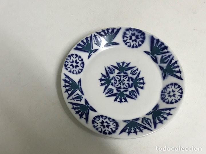 Antigüedades: Lote de cuatro platos de Sargadelos, Lugo, Galicia - Foto 6 - 213668650