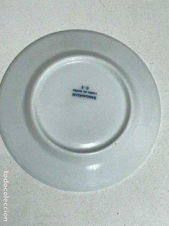 Antigüedades: Lote de cuatro platos de Sargadelos, Lugo, Galicia - Foto 8 - 213668650
