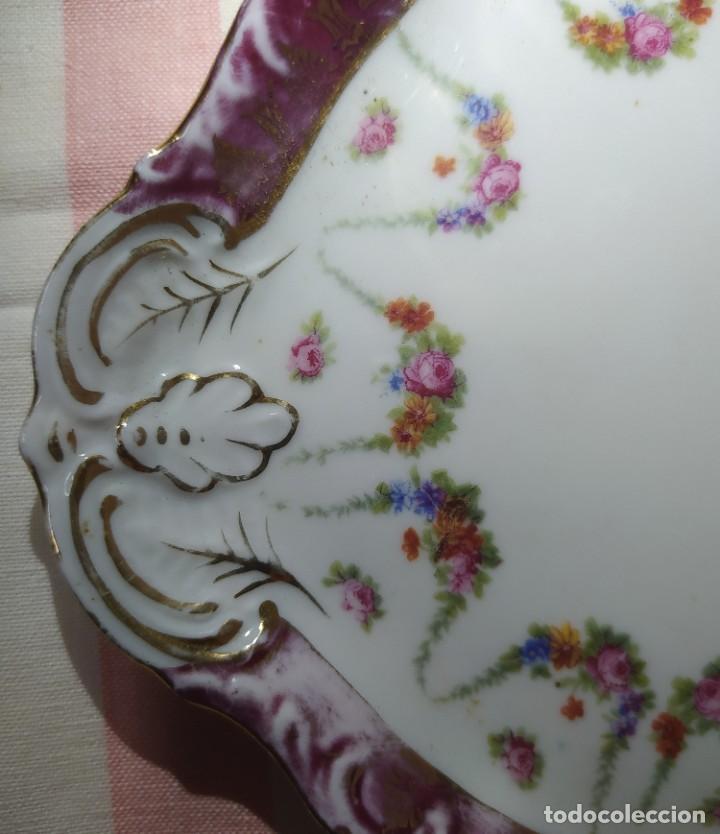 Antigüedades: BONITA BANDEJA DE PORCELANA - Foto 2 - 213673072