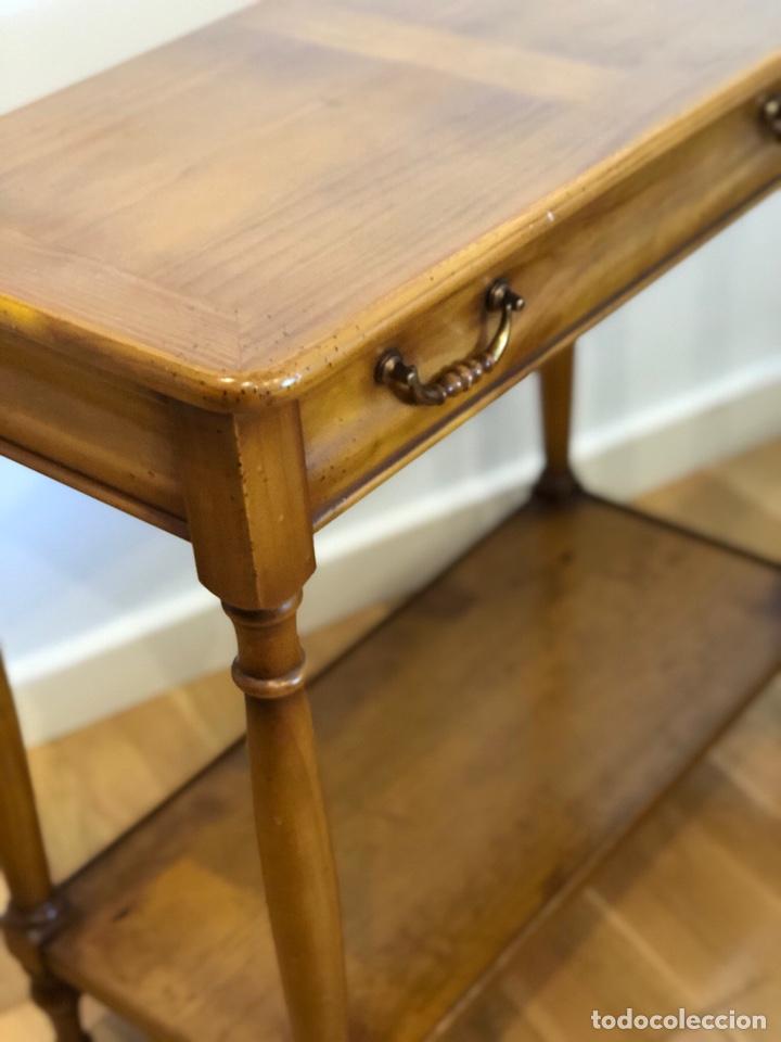 Antigüedades: Mueble consola color caramelo circa 1.950 - Foto 4 - 212415810