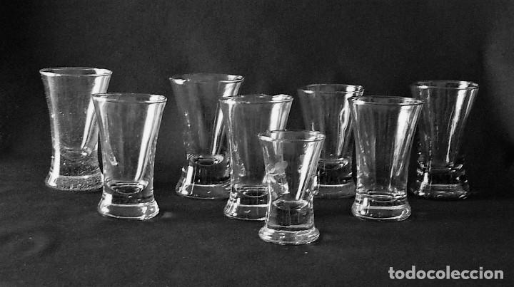Antigüedades: Ocho vasos de Santa Lucia (Cartagena) - Foto 4 - 213690903