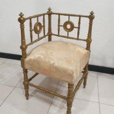 Antigüedades: SILLA ESQUINERA. Lote 213700271