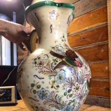 Antigüedades: JARRA DE BOLA PUENTE DEL ARZOBISPO TALAVERA. Lote 213708353