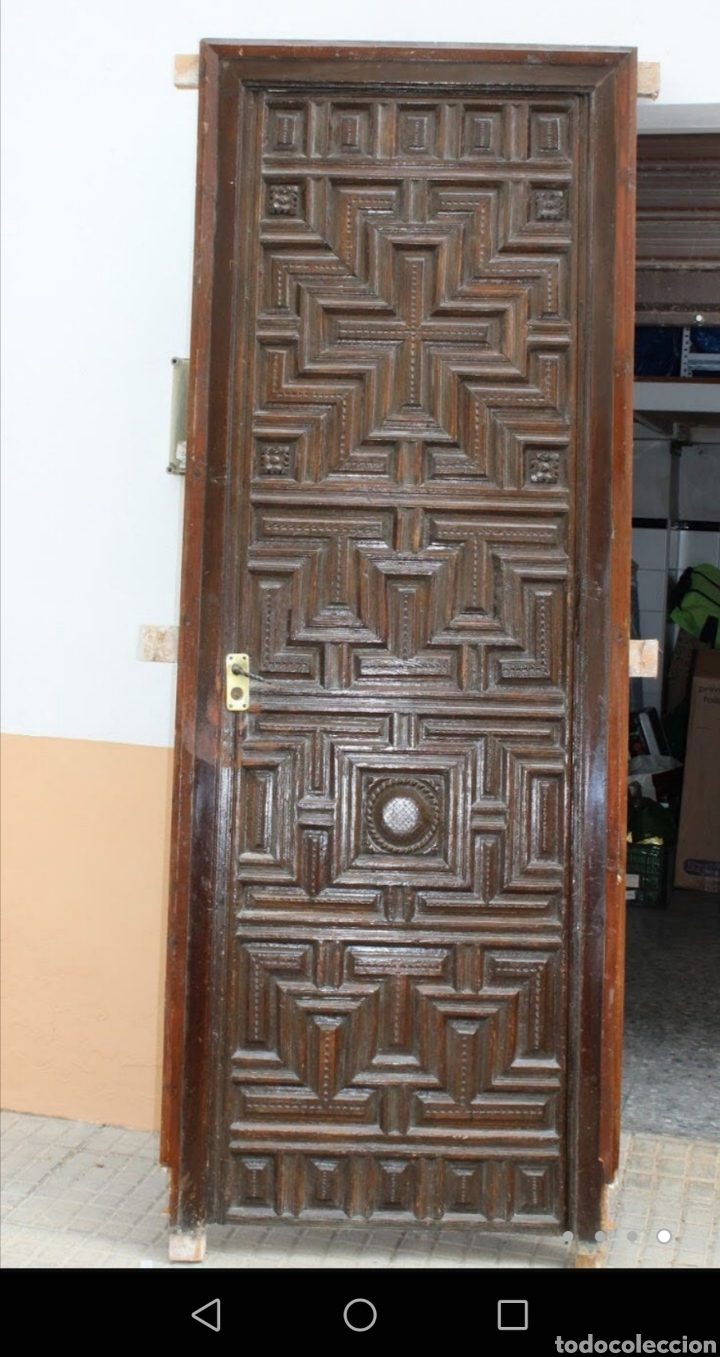 Antigüedades: Antigua puerta - Foto 4 - 213736947